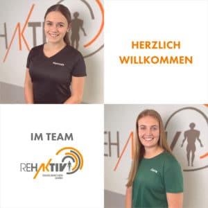 Willkommen im Team Hannah & Jana